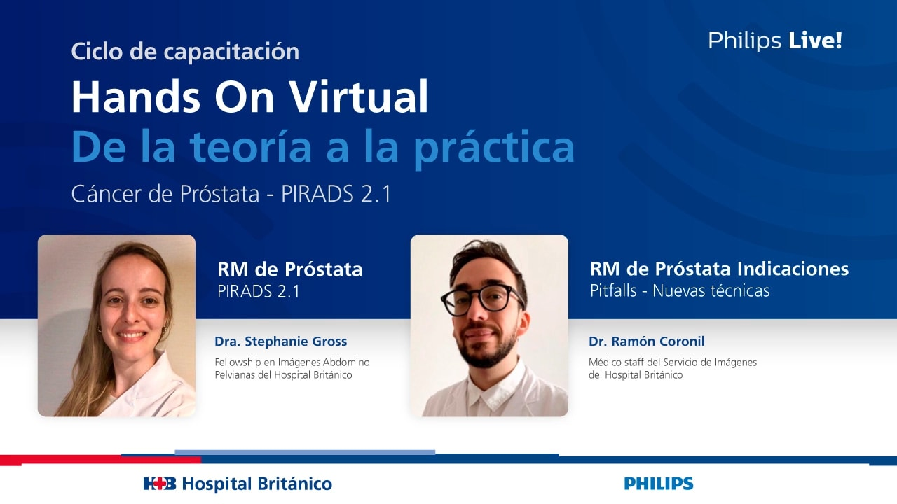 Hands On Virtual Cáncer de Próstata